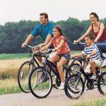 deporte con bicicleta